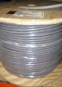6310 Alpha Wire Comm And Control 24awg 7/32 30c Foil Shld Slate Lot Of 1000 Ft