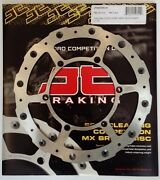 Yamaha Yz250fx 2015 To 2016 Jt Brakes Self Cleaning Front Wavy Brake Disc