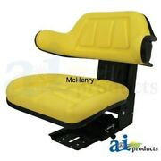 Seat Tractor Yellow Universal Use Part W333yl