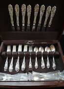 Towle Grand Duchess Sterling 8 Place Setting Set 40 Pieces Free Shipping
