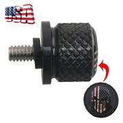 Motorcycle 6mm Aluminum American Flag Skull Rear Seat Bolt Screw Fit For Harley