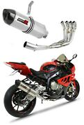 S 1000 Rr Exhaust Hp1 Carbon Dominator Racing Silencer Manifold 2012 2013 2014
