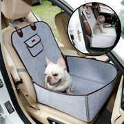 Car Pet Seat Cover Protector Puppy Basket Booster Pad Travel Safety Dog Carrier