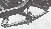 Chevrolet Chevy Gmc 3/4 Ton Truck Rear Leaf Spring Assembly Late 1936-1940