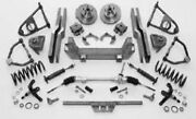 Gm Buick Pontiac Olds Oldsmobile Ifs Front End Kit Rhd 1939-51 Mustang Ii Style