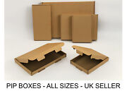 Large Letter Box Royal Mail Pip Boxes C4 C5 C6 Dl Card Board Postal Mailing
