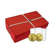 2020 Sealed Monster Box Of 500 Ounces Gold American Eagles Unopened 500 Oz.