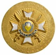 Table Medal Memory Pinkerton Police Arms Protection People Kyiv Ukraine 1990-s