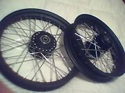 2008-2017 Sportster Iron 883 Wheel Set 16 And 21 Powder Coated Special Order