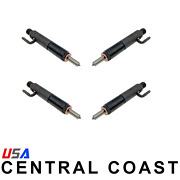 4pc Fuel Injector For Lister Petter Engines Lpw4 Lpw3 Lpw2 31538 31539 751-19700