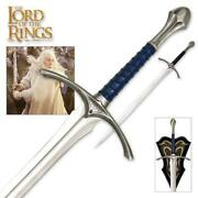 Lord Of The Rings Glamdring 48 Gandalf Sword With Plaque United Cutlery Coa
