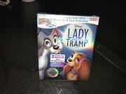 New Disney Lady And The Tramp Blu Ray Dvd Digital Hd Target Exclusive Digibook