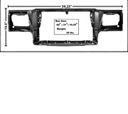 Chevy Monte Carlo Radiator Support 1981-1988