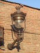 Great Cast Iron Exterior Or Interior Victorian Style Sconce / Light - Jl9
