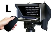 Teleprompter Black Fish L. Prompter Für Max. Ipad Pro 11, Tablet, Iphone, Handy