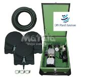 New 1/2hp Pond Aeration Kit W/ 300and039 Sink Tube/3-diffuserand039s Mea Lake Pro 3c