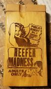 Reefer Madness Prohibition Themed Wood Wooden Dugout
