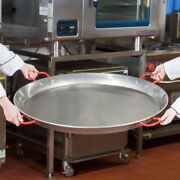 35 1/2 Extra Large Paella Pan Seafood Spanish Carbon Steel Restaurant Catering
