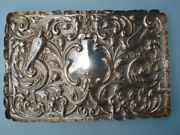 Sterling Silver Rectangular Dresser Tray --- By William Comyns And Sons -- London