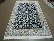 4and039 X 7and039 Vintage Hand Made Fine Chinese Floral Oriental Wool Silk High Light Rug