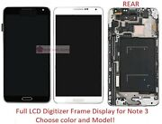 Full Lcd Digitizer Frame Screen Replacement Part For Samsung Galaxy Note 3 Iii