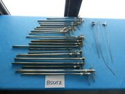 Pilling Surgical Ent Bronchoscopes Lot Of 21