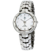 Tag Heuer Link Automatic Movement Mop Dial Ladies Watch Wat2315.ba0956