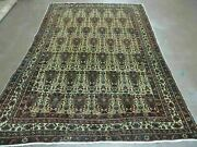 5and039 X 7and039 Antique Hand Made Turkish Tribal Wool Rug B12