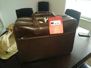 Victorinox 125th Anniversary Limited Travel Bag Leather Carry-on Only 125 Made