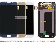Full Lcd Digitizer Glass Screen Display Replacement Part For Samsung Galaxy S6