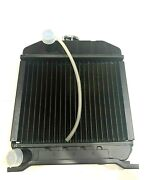 4 Row 15221-72060 Copper Radiator For Kubota Tractors L175 With Cap