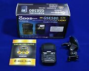 Dod Tech Gse580 Car Dash Cam Gps Logger And Recorder Video Camera 1080p Full Hd