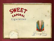 Vintage Sweet Caporal Cigarettes- Imperial Tobacco Tin/can - Canada - Flat 50