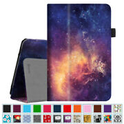 For Verizon Asus Zenpad Z8s 7.9 Inch Tablet 2017 Leather Folio Case Cover Stand