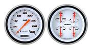1951-1952 Chevrolet Chevy Direct Fit Gauge Velocity White Ch51vsw52