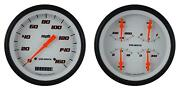 1947-1953 Chevy Gm Pick-up Direct Fit Gauge Velocity White Ct47vsw52