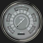1949-1950 Ford Direct Fit Gauge Gray Fc49g
