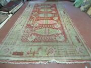 6and039 X 12and039 Antique Kothan Central Asia Turkestan Hand Made Wool Rug