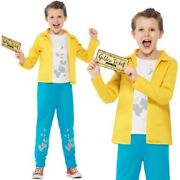 Childs Roald Dahl Charlie Bucket Fancy Dress Costume Book Day Outfit By Smiffys