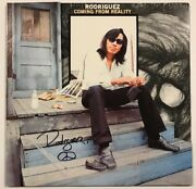 Sixto Rodriguez Signed Coming From Reality Lp Album Psa/dna Coa Ae12961 Auto