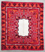 Rug Carpet Antique European Europe French France Knotted 1950