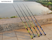 Fishing Pole Stick Rod Carbon Fibers Lure Tip Spinning Casting Camouflage Power