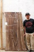 Natural Walnut Wood Slab Kitchen Table Top Diy Rustic Live Edge Tabletop 5790a02