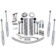 Rubicon Express Super-flex Front And Rear Suspension For 84-01 Jeep Cherokee
