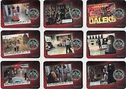Doctor Who And The Daleks Ultra Rare 9 Card Proof Chase Set
