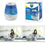 Vicks Filter-free, Ultrasonic, Visible Cool Mist Humidifier For Medium Rooms