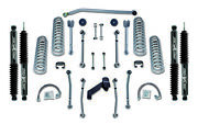 Rubicon Express Super-flex Standard Front And Rear Suspension For 07-18 Wrangler