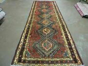 3and039 6 X 10and039 Antique Hand Made Turkish Wool Runner Rug Nice