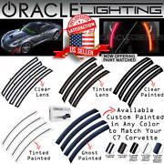 Oracle Led Sidemarkers For 14-19 Chevrolet C7 Corvette - Clear And Tinted - 2392
