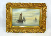 Romantika Picture About 1880 Painting Oil Painting Sailing Ship